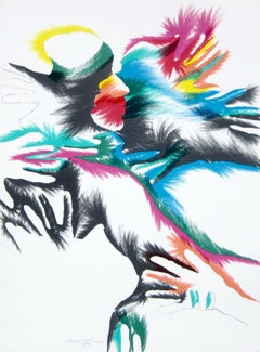 Blackbird Love, Limited Edition Lithograph, MARISOL