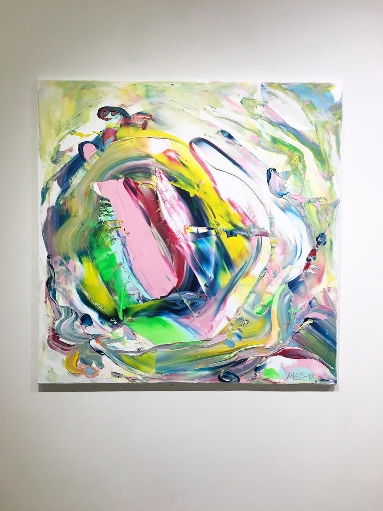 The Change (Made In New York series) - Painting by Marit Geraldine Bostad