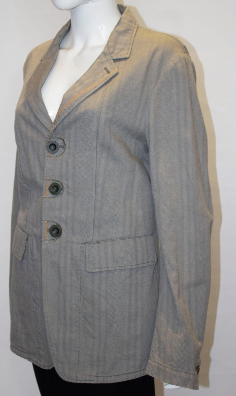 Marithe and Francois Girbaud Mens Jacket In Good Condition For Sale In London, GB