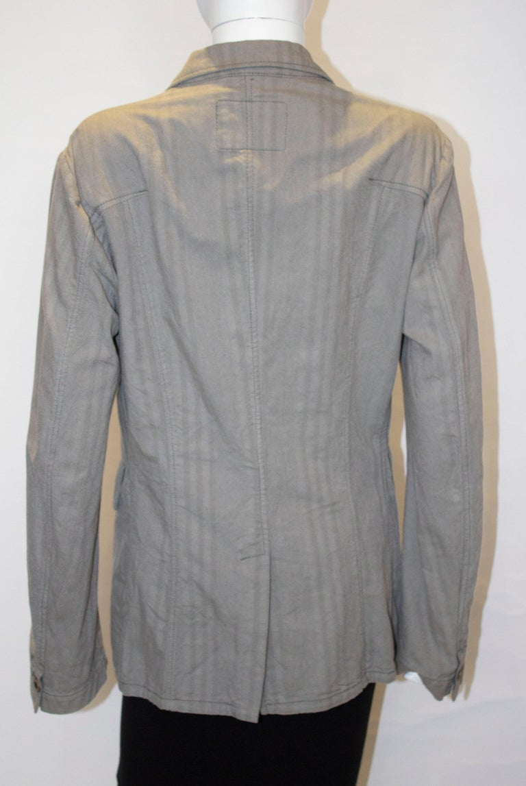Marithe and Francois Girbaud Mens Jacket For Sale 3