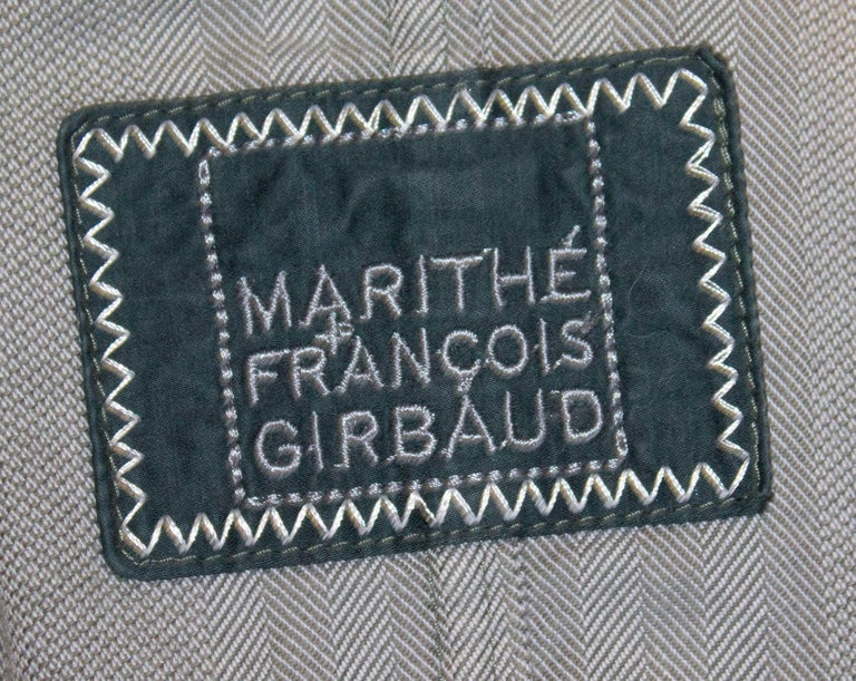 Marithe and Francois Girbaud Mens Jacket For Sale 4