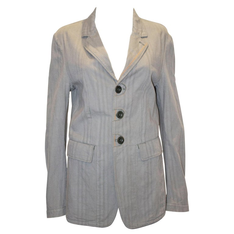 Marithe and Francois Girbaud Mens Jacket For Sale