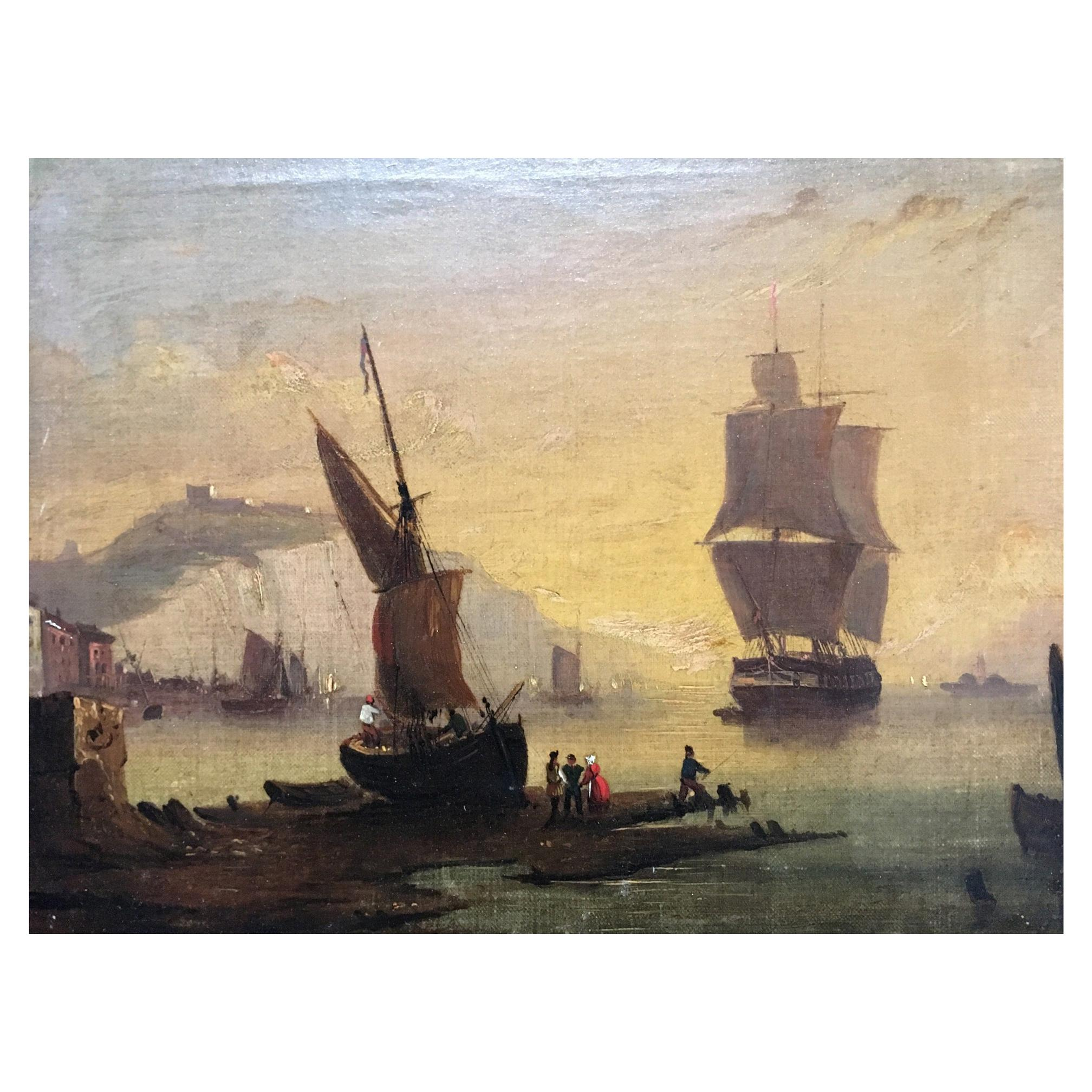 Maritime Oil on Canvas
