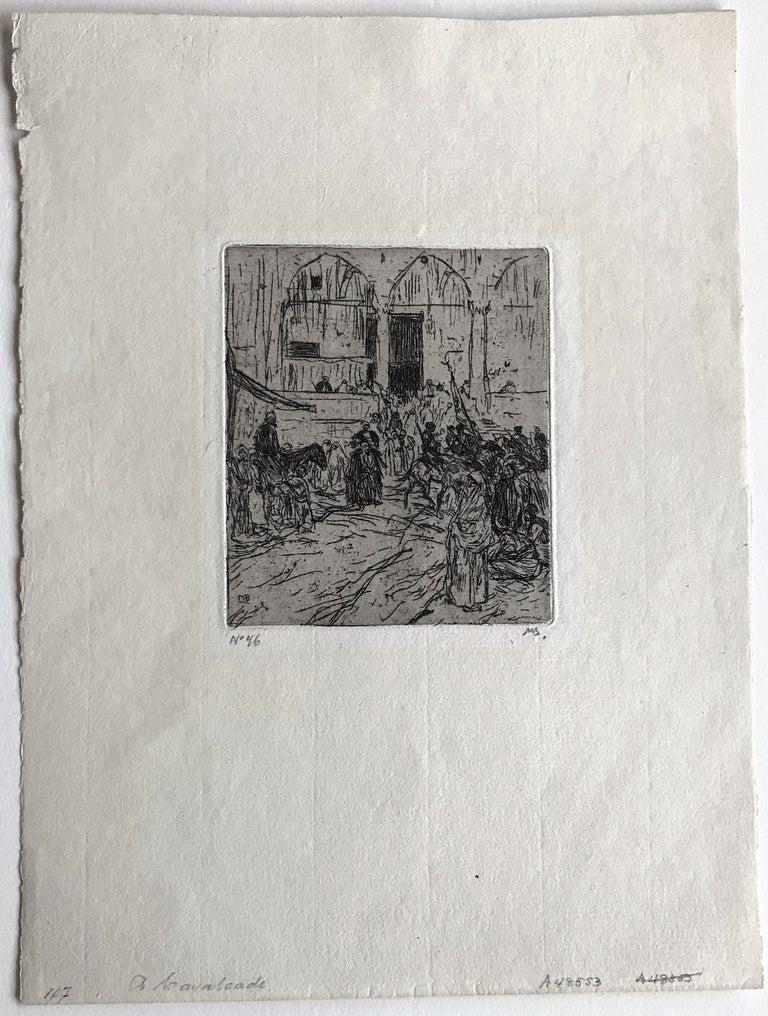 Cavalcade. - Old Masters Print by Marius Bauer
