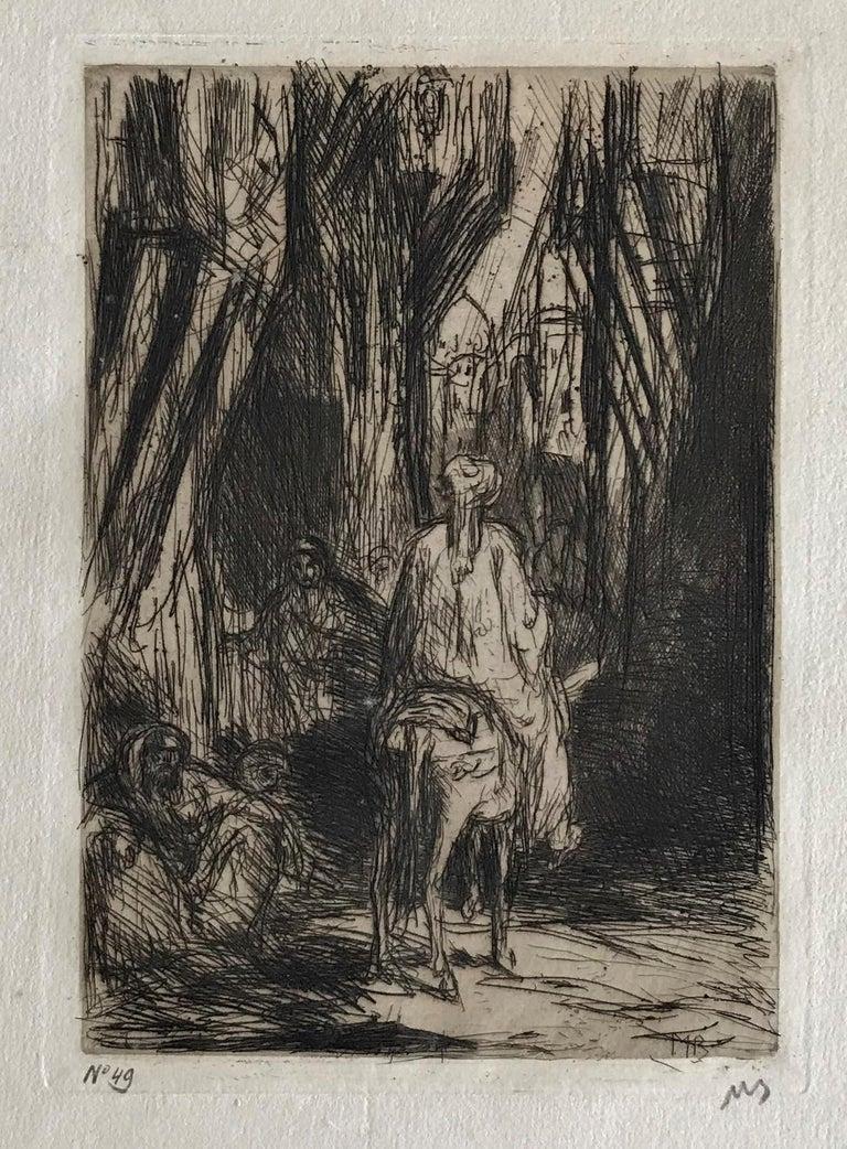 Street in Smyrna - Print by Marius Bauer
