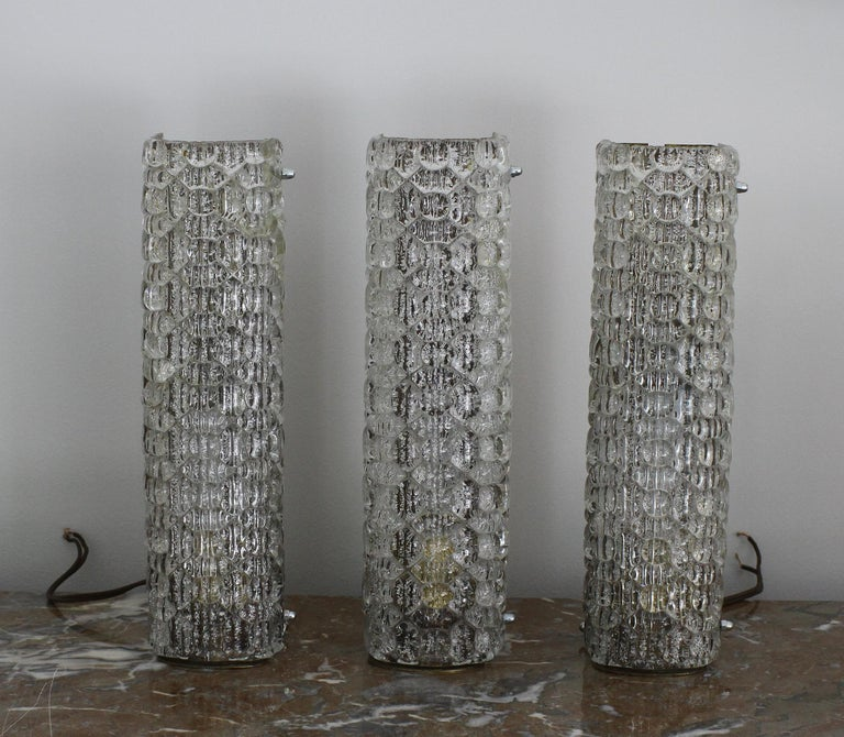 French Marius Ernest Sabino, Exceptional Set of Sconces For Sale