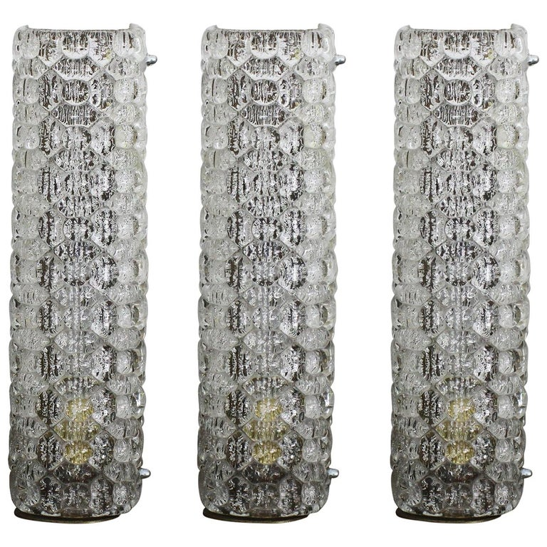 Marius Ernest Sabino, Exceptional Set of Sconces For Sale