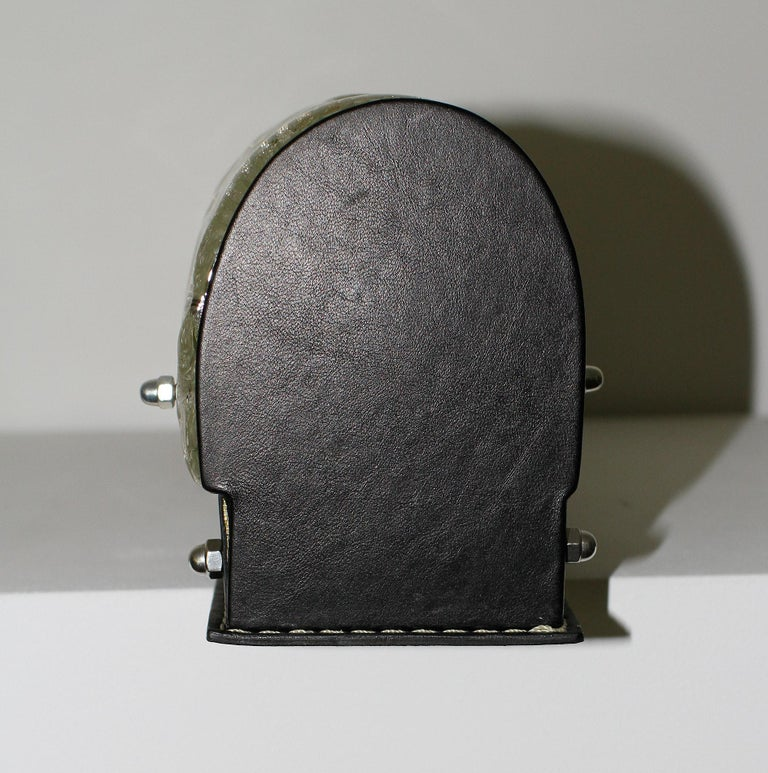 Marius Ernest Sabino & Jacques Adnet 'Attributed' Sconce For Sale 4