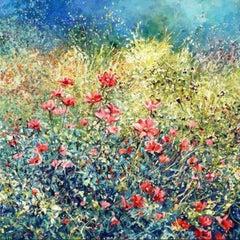 Mariusz Kaldowski, Cosmos, Original Acrylic Landscape Painting