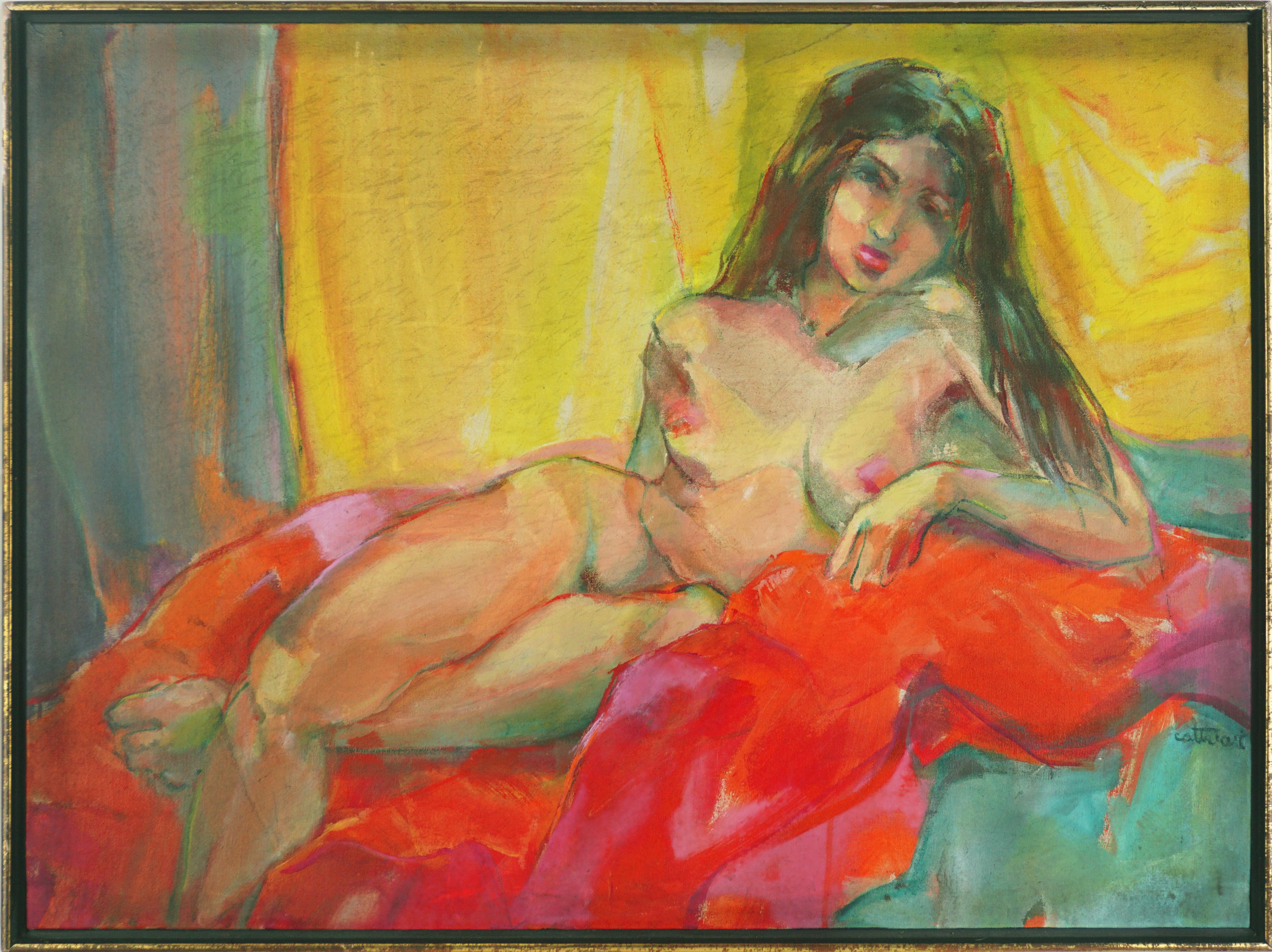 Brunette Nude Study - Bay Area Figurative