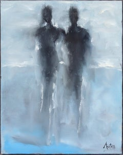 Together As One - Abstract Figurative Artwork