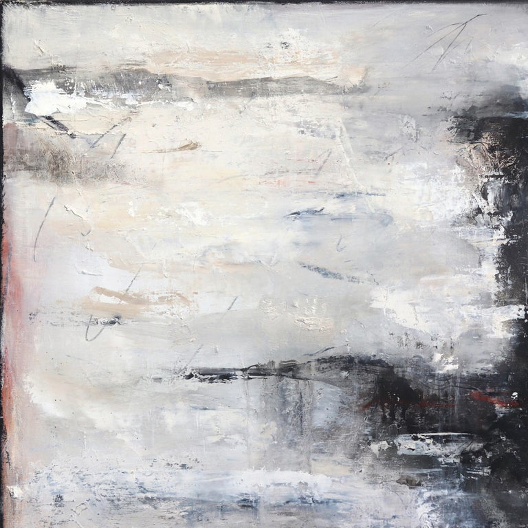 Mark Acetelli's oil and mixed media paintings awaken the viewer's sense of exploration and adventure; they demand a new discovery. His artworks exhibit a chemistry of complexity and spontaneity, a lyrical abstraction of frenzied marks, many of which