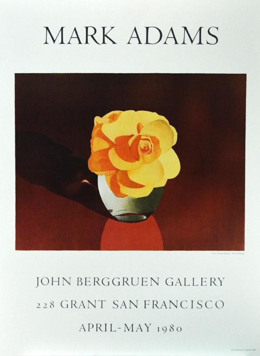 Pale Orange Begonia-Poster