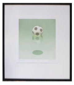 Soccer Ball - color aquatint ed. 17 / 75