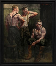 [Bruce Sargeant (1898-1938)] Dressing for a Morning Hunt