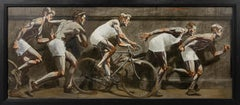 [Bruce Sargeant (1898-1938)] Frieze with Five Athletes