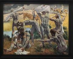 """Homage to Giovanni Colacicchi, """"Fine d'estate 1932"""""""