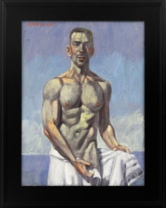 [Bruce Sargeant (1898-1938)] Julian Coming Out of the Water
