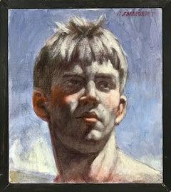 [Bruce Sargeant (1898-1938)] Justin Head Study