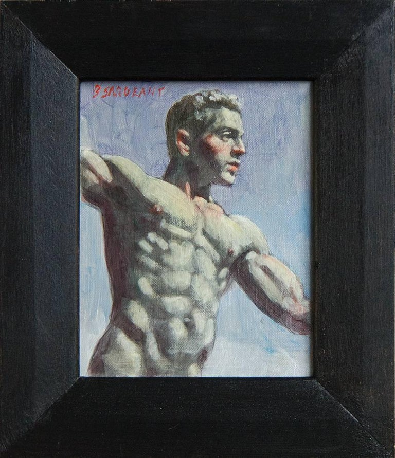Mark Beard Figurative Painting - [Bruce Sargeant (1898-1938)] Man from Below