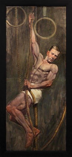 [Bruce Sargeant (1898-1938)] Man with Ropes and Rings