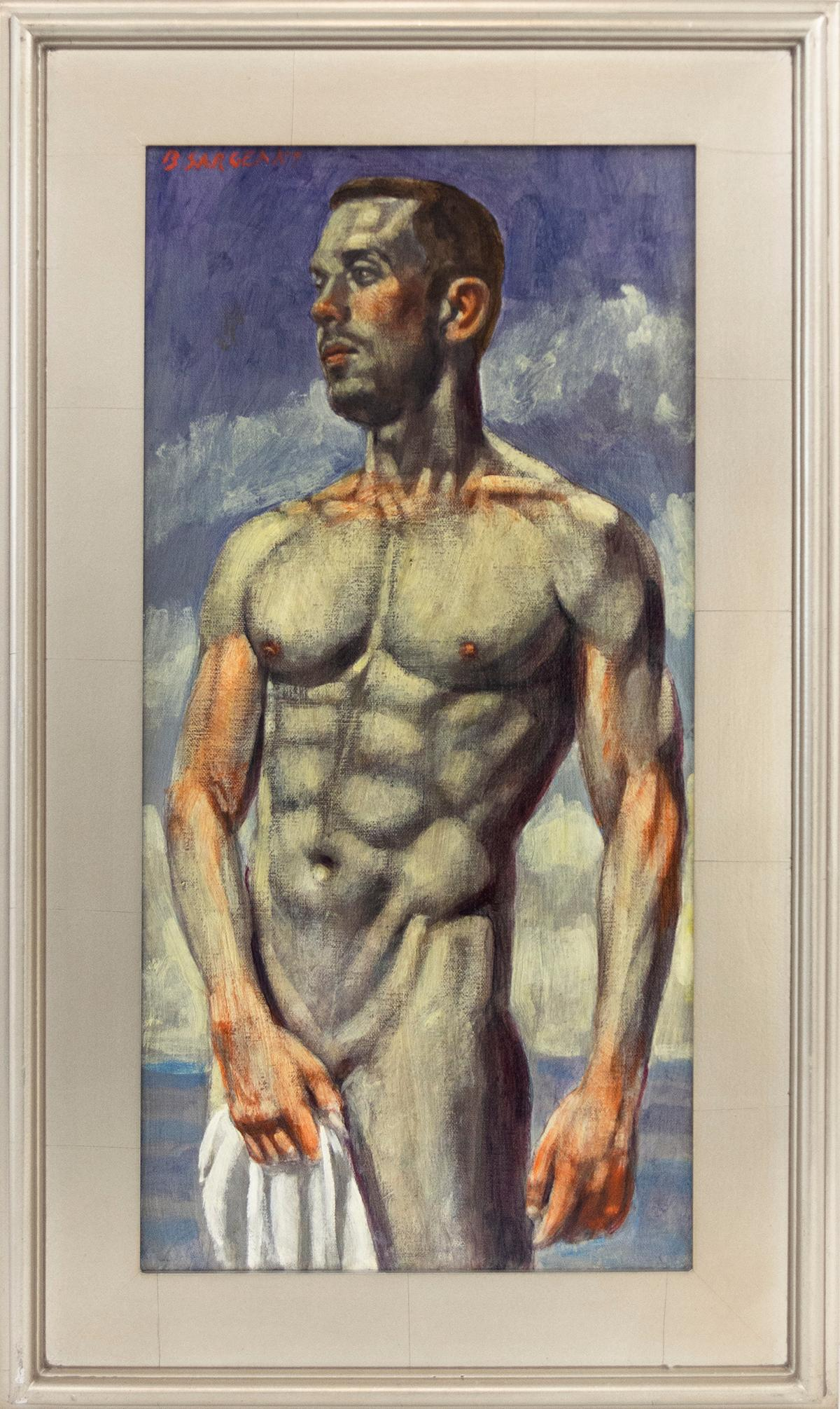 [Bruce Sargeant (1898-1938)] Man with Towel