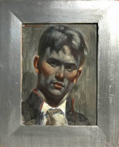 [Bruce Sargeant (1898-1938)] Portrait of a Young Soldier