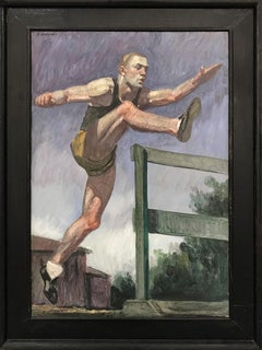 [Bruce Sargeant (1898-1938)] Study for Jumping the Hurdles