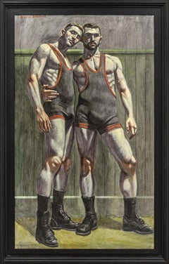 [Bruce Sargeant (1898-1938)] Teammates in Singlets