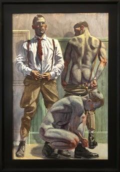 [Bruce Sargeant (1898-1938)] Three Men Undressing