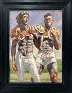 [Bruce Sargeant (1898-1938)] Two Members of the Winning Team