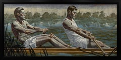 [Bruce Sargeant (1898-1938)] Two Rowers, Early Morning Practice