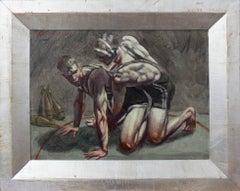 [Bruce Sargeant (1898-1938)] Wrestlers