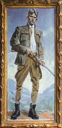 [Bruce Sargeant (1898-1938)] Young Hunter (Man with Gun)