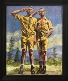 Double Scout Salute