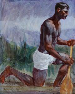 Kneeling Rower