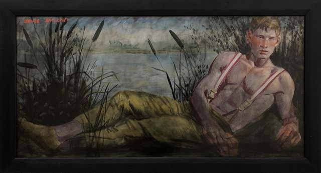 Nude Polaroid Transfer Lg Art Prints by Marc Beard