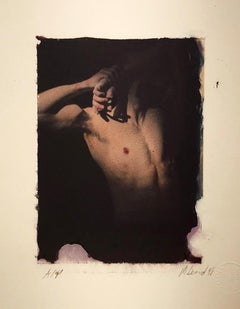 Untitled (Male Nude in Shadow)