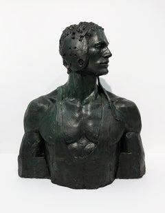 [Bruce Sargeant (1898-1938)] Wrestler Bust