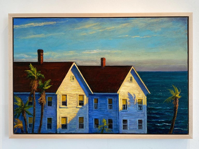 Remembering California - Painting by Mark Beck