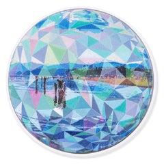 Pixelated Beachgoers