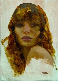 """""""Allure v1,"""" Oil painting"""