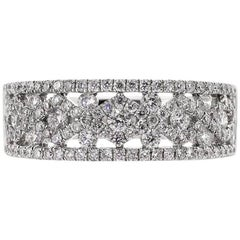 Mark Broumand 1.10 Carat Round Cut Diamond Ring
