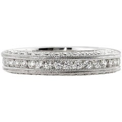 Mark Broumand 1.75 Carat Round Brilliant Cut Diamond Eternity Band