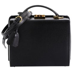 Mark Cross Grace Box Bag Leather Large
