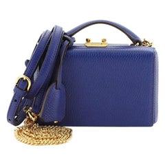 Mark Cross Grace Box Bag Leather Mini
