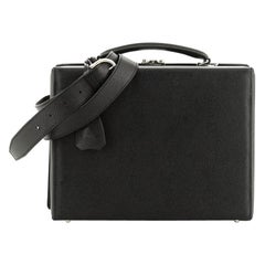 Mark Cross Grace Box Briefcase Leather Small
