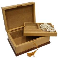 Mark Cross Jewelry Box Circa 1970s