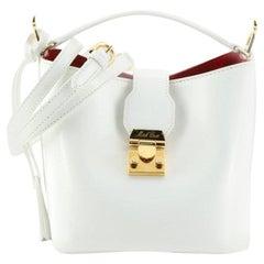 Mark Cross Murphy Bucket Bag Leather Mini