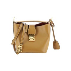 Mark Cross Murphy Bucket Bag Leather Mini